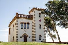 Δημαρχείο του Sant Marti της κλίμακας Empuries Ισπανία στοκ εικόνες