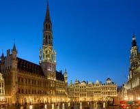Δημαρχείο των Βρυξελλών στοκ φωτογραφίες με δικαίωμα ελεύθερης χρήσης