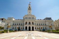 Δημαρχείο Arad - Ρουμανία στοκ εικόνες