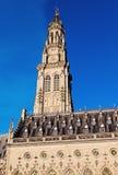 Δημαρχείο Arras Place des Heroes Στοκ Εικόνες