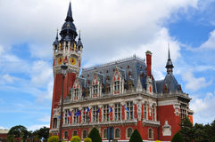 Δημαρχείο Calais στοκ φωτογραφίες