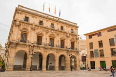 Δημαρχείο Castellon de Λα Plana στοκ εικόνες