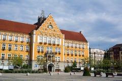Δημαρχείο, Cesky Tesin στοκ εικόνες