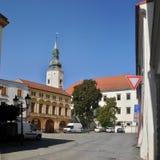 Δημαρχείο Hranice - πύργος εισόδων Στοκ φωτογραφίες με δικαίωμα ελεύθερης χρήσης
