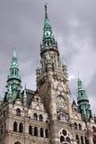 Δημαρχείο Liberec Στοκ Φωτογραφίες