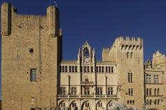 Δημαρχείο Narbonne, Languedoc-Rousillon, Στοκ Φωτογραφίες