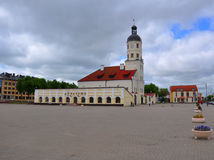 Δημαρχείο Nesvizh, Λευκορωσία Στοκ φωτογραφία με δικαίωμα ελεύθερης χρήσης