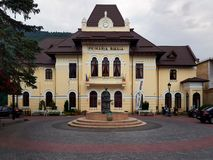 Δημαρχείο Sinaia σε Sinaia, Ρουμανία Στοκ Εικόνες