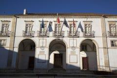 Δημαρχείο  Tomar Στοκ εικόνες με δικαίωμα ελεύθερης χρήσης