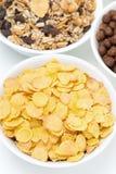 Δημητριακά και δημητριακά προγευμάτων, τοπ άποψη Στοκ φωτογραφία με δικαίωμα ελεύθερης χρήσης