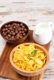 Δημητριακά και δημητριακά προγευμάτων Στοκ εικόνες με δικαίωμα ελεύθερης χρήσης