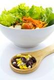 Δημητριακά και σαλάτα στοκ εικόνες