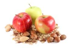 δημητριακά μήλων στοκ εικόνα με δικαίωμα ελεύθερης χρήσης