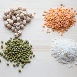 Δημητριακά που ανατρέπουν τους σωρούς Στοκ Εικόνα
