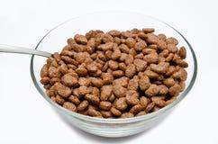 Δημητριακά σοκολάτας στο κύπελλο στοκ φωτογραφία