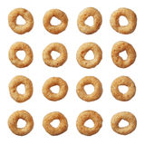 Δημητριακά Cheerios που απομονώνονται στο λευκό Στοκ φωτογραφίες με δικαίωμα ελεύθερης χρήσης