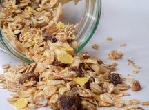 Δημητριακά Granola Στοκ εικόνα με δικαίωμα ελεύθερης χρήσης