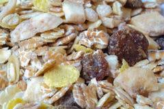 Δημητριακά Granola Στοκ Φωτογραφία