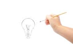 Δημιουργήστε μια ιδέα Στοκ εικόνα με δικαίωμα ελεύθερης χρήσης