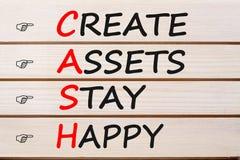 Δημιουργήστε τα ευτυχή ΜΕΤΡΗΤΑ παραμονής προτερημάτων στοκ φωτογραφία με δικαίωμα ελεύθερης χρήσης