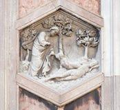 Δημιουργία της παραμονής, καθεδρικός ναός της Φλωρεντίας Στοκ εικόνα με δικαίωμα ελεύθερης χρήσης