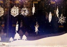 Δημιουργίες Χριστουγέννων Swarovski στοκ εικόνα