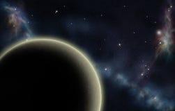 δημιουργημένο ψηφιακό starfield Στοκ Εικόνα