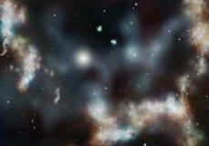 δημιουργημένο ψηφιακό starfield Στοκ φωτογραφία με δικαίωμα ελεύθερης χρήσης
