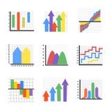 Δημιουργικά επίπεδα εικονίδια Infographics Διανυσματική απεικόνιση