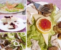 δημιουργικά τρόφιμα στοκ εικόνες