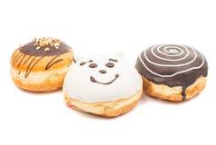 Δημιουργικά donuts Στοκ εικόνες με δικαίωμα ελεύθερης χρήσης