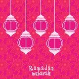 Δημιουργικά floral φανάρια για τον εορτασμό Ramadan Μουμπάρακ Στοκ φωτογραφία με δικαίωμα ελεύθερης χρήσης