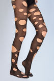 δημιουργικές γυναικείες κάλτσες Στοκ φωτογραφία με δικαίωμα ελεύθερης χρήσης