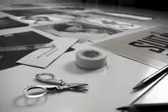 Δημιουργικές ιδέες ντεκόρ τοίχων στοκ φωτογραφία