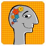 Δημιουργικές σκέψεις διανυσματική απεικόνιση