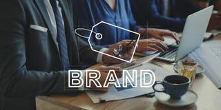 Δημιουργική έννοια μάρκετινγκ ταυτότητας εμπορικών σημάτων σχεδίου στοκ εικόνα με δικαίωμα ελεύθερης χρήσης