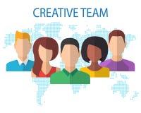 Δημιουργική έννοια ομάδων Στοκ εικόνες με δικαίωμα ελεύθερης χρήσης