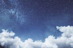 Δημιουργική σύσταση ουρανού σύννεφων Στοκ εικόνες με δικαίωμα ελεύθερης χρήσης