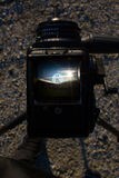Δημιουργική φωτογραφία του βλαστού καμερών Στοκ φωτογραφίες με δικαίωμα ελεύθερης χρήσης