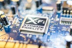 Δημιουργικός πίνακας αμμοστρωτικών μηχανών εργαστηρίων υγιής με το λογότυπο XFI Στοκ Εικόνες