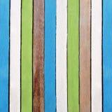 Δημιουργικό αναδρομικό ξύλινο υπόβαθρο σύστασης χρωμάτων στοκ εικόνα