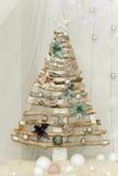 Δημιουργικό γούνα-δέντρο για τα Χριστούγεννα Στοκ εικόνα με δικαίωμα ελεύθερης χρήσης