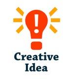Δημιουργικό εικονίδιο ιδέας Στοκ εικόνα με δικαίωμα ελεύθερης χρήσης
