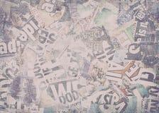 Δημιουργικό εκλεκτής ποιότητας υπόβαθρο εφημερίδων στοκ φωτογραφία με δικαίωμα ελεύθερης χρήσης