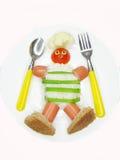 δημιουργικό κουτάλι μο&rho Στοκ εικόνες με δικαίωμα ελεύθερης χρήσης