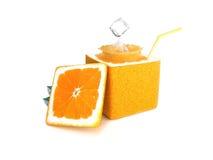 δημιουργικό πορτοκάλι Στοκ Φωτογραφίες