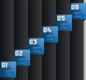Δημιουργικό πρότυπο πληροφορία-γραφικής παράστασης Στοκ φωτογραφία με δικαίωμα ελεύθερης χρήσης