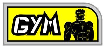 Κίτρινη γυμναστική καρτών ελεύθερη απεικόνιση δικαιώματος