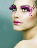 δημιουργικό makeup Στοκ Φωτογραφίες