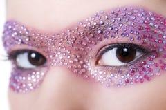 δημιουργικό makeup στοκ φωτογραφίες με δικαίωμα ελεύθερης χρήσης